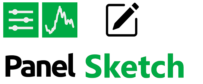 Panel Sketch Logo